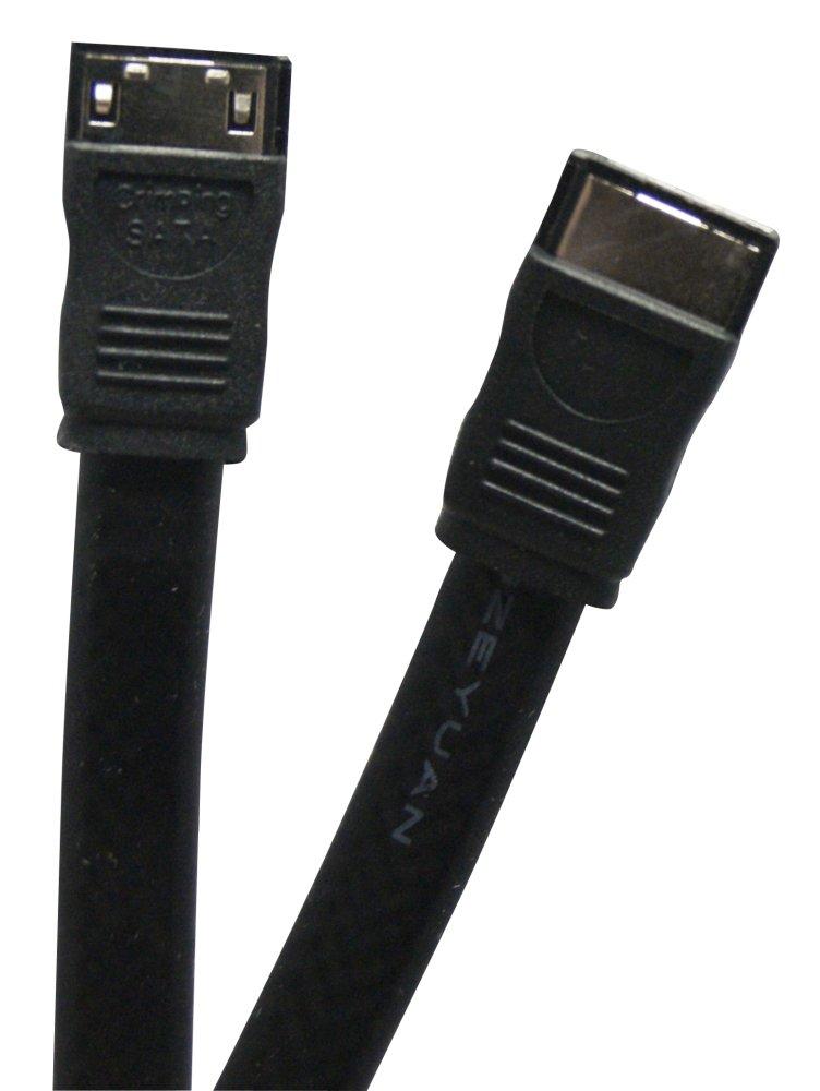 Waytex SATA 300/Hard Drive Female//Female 0.50/m Black
