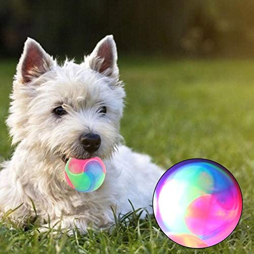 Junerain Pelota de Juguete para Mascotas Dientes Resistentes a ...