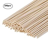 Reed Diffuser Sticks - Wood Rattan-Reed Sticks -Diffuser Glass Bottles-Diffuser Refills- Spa-Aromatherapy, by HOSSIAN (9in(23cm))
