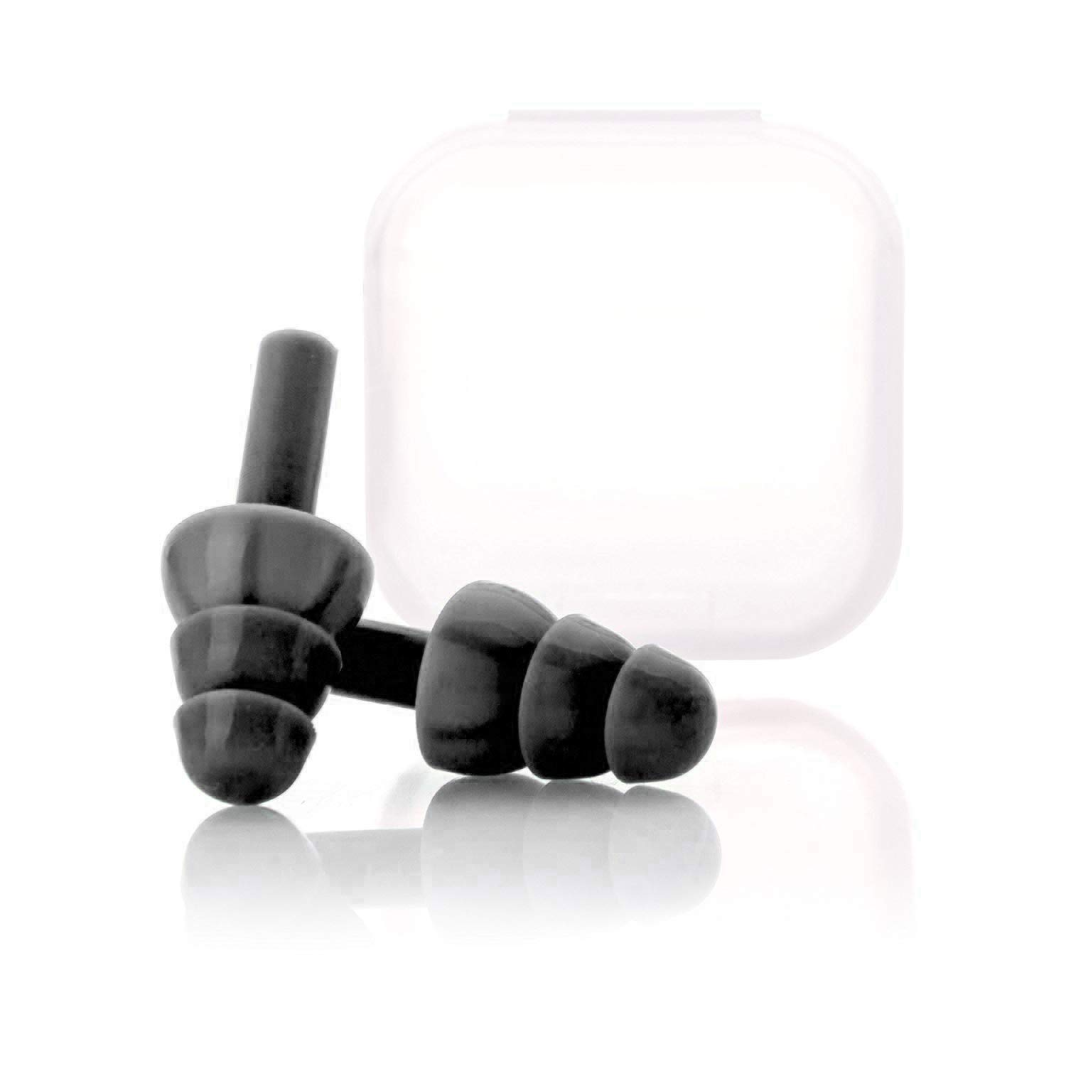 Noise Cancelling Sound Blocking Eerplus Noise Reduction for Musicians Concerts Silicone Sleeping Earplugs