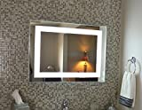 Wall Mounted Lighted Vanity Mirror LED MAM83224 Commercial Grade 32'' wide x 24'' tall