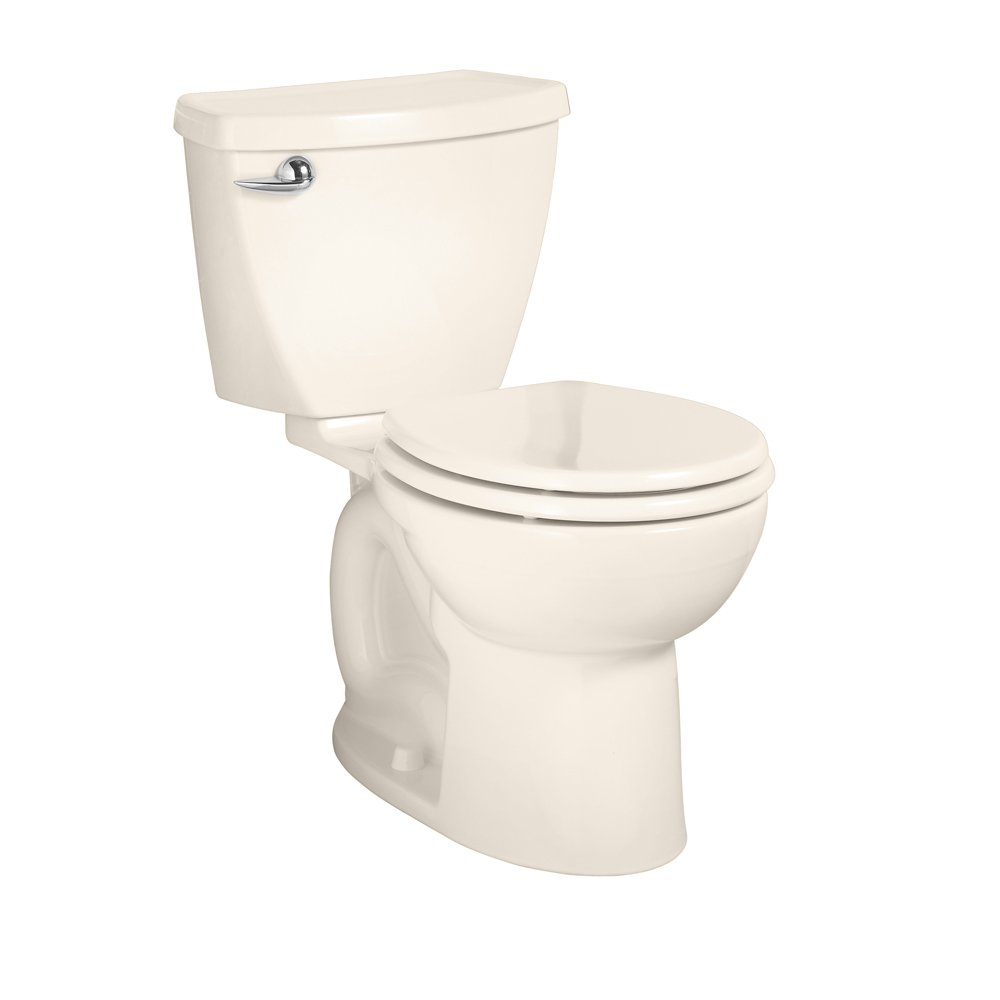 American Standard 270DA001.222 Cadet 3 Round Front Two-Piece Toilet with 12-Inch Rough-In, Linen by American Standard