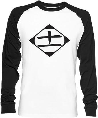 11 Unisex Camiseta De Béisbol Manga Larga Hombre Mujer Blanca ...