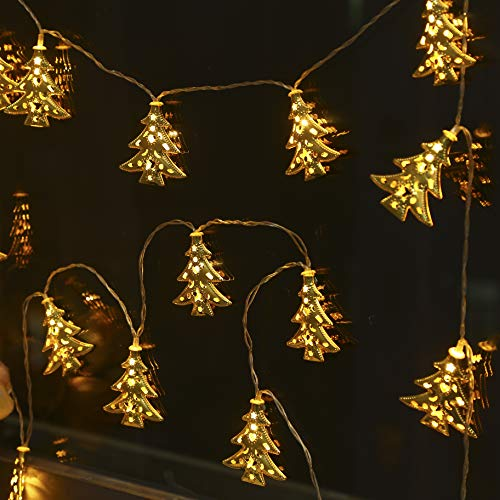 Christmas Tree Shaped Outdoor Lights in US - 3