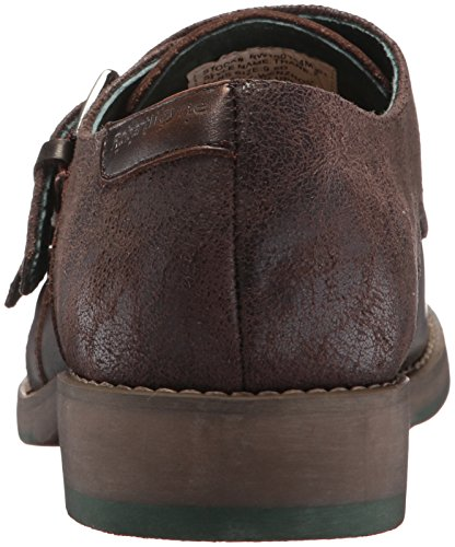 Rw Di Robert Wayne Mens Thane Monk-strap Mocassino Marrone