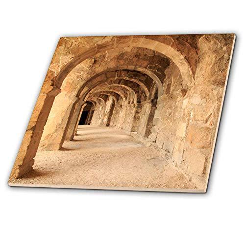 3dRose Danita Delimont - Turkey - Turkey, Anatolia, Aspendos, 2nd Century Roman theatre. - 12 Inch Ceramic Tile (ct_312846_4)