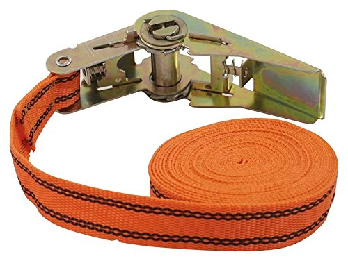 125//250/daN Orange 5/m 25/mm Petex 43192635/Ratchet Tie Down Strap