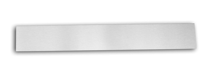 Design Blech Sto/ß Blech Deko Blech 857 x 100 x 1 mm in neusilber