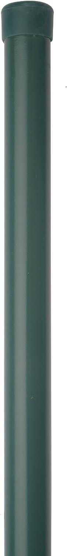 pour treillis de 800 mm de haut GAH-Alberts 613907 Piquet de cl/ôture raccourci phosphat/é au zinc /épaisseur poteau /ø 34 rev/êtement en plastique vert RAL 6005 Import Allemagne longueur 965 mm