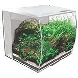 Fluval FLEX 34L 9 Gallon Nano Glass Aquarium Kit (White)