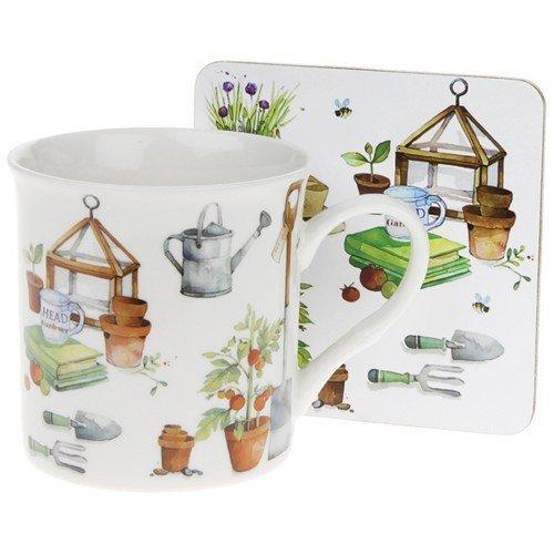 Cottage Garden Mug & Coaster Gift Set