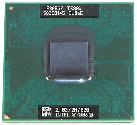 (INTEL - 2.00GHZ 2M 800MHZ CORE DUO (T5800) )