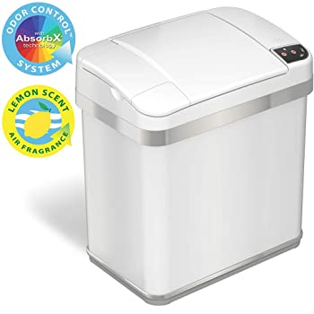 iTouchless MT02SW 2.5-gallon Kitchen Trash Can