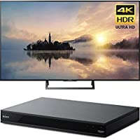 Sony KD43X720E 43 4K X-Reality PRO HDR Ultra HD TV 3840x2160 with Hidden Cable Routing & Sony UBPX700 Ultra HD BluRay Player with Dolby Vision