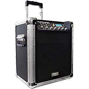 Pyle-Pro PCMX260MB Battery Powered Portable PA System w/USB/SD/MP3 Inputs (Discontinued by Manufacturer)