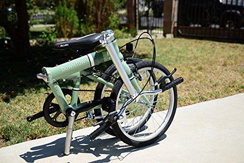 Allen deportes centro de aluminio 1 velocidad bicicleta plegable: Amazon.es: Deportes y aire libre