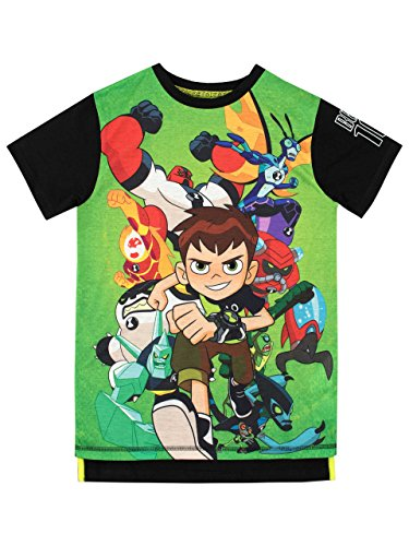 Ben 10 Boys' T-Shirt Size 12 Multicolored