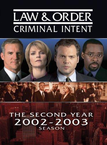 DVD : Law & Order - Criminal Intent: The Second Year (Full Frame, , Dolby, Slim Pack, Slipsleeve Packaging)