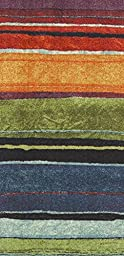 Mohawk Home New Wave Rainbow Printed Rug, 2\'x8\', Multi