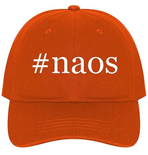 #naos - A Nice Comfortable Adjustable Hashtag Dad Hat Cap, Orange ()