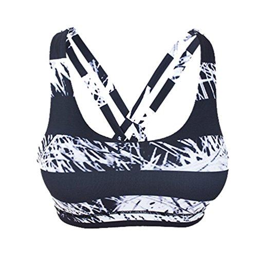 Binhee Femmes Sport Soutien-Gorge Yoga Corps Forme Sous-Vêtements Antichoc Anti-Affaissement Gilet De Course
