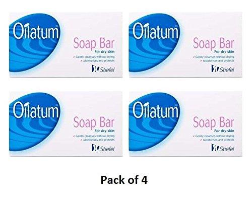 Oilatum Soap Bar For Dry Skin (100 gm) (Pack of 4)