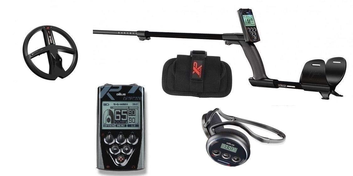 XP Metal Detector Xplorer Deus completo gorro WS4 + RC Mando placa 11