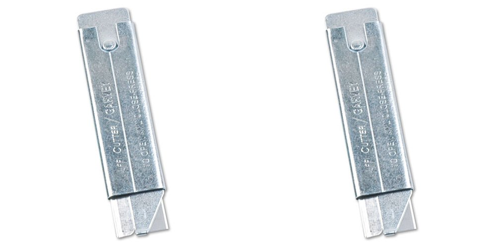 Cosco Jiffi-Cutter Compact Utility Knife with Retractable Blade (091460), 2 Packs
