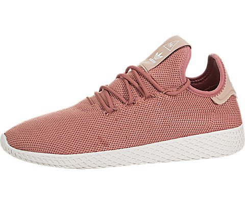 adidas Women's PW Tennis HU W Sneaker, Ash Pink/Ash Pink/Chalk White, 5.5 Medium US