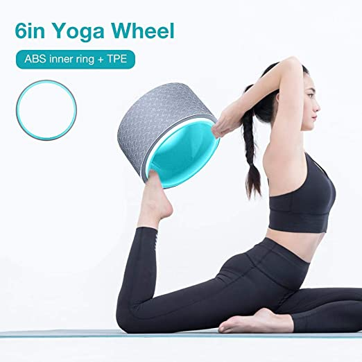 Amazon.com : total-shop Yoga Wheel Premium Massage Wheel ...