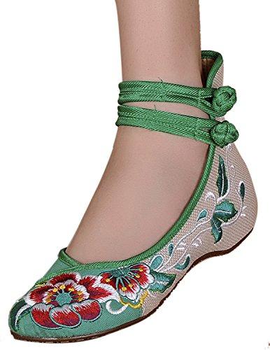 bottle green dress shoes - 8
