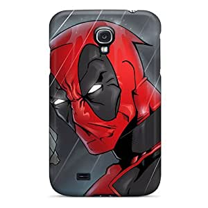 Durable Protector Case Cover With Deadpool I4 Hot Design For Galaxy S4