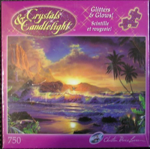 Crystals and Candlelight Beyond Hana's Gate: 750 Piece Puzzle by Christian Riese Lassen