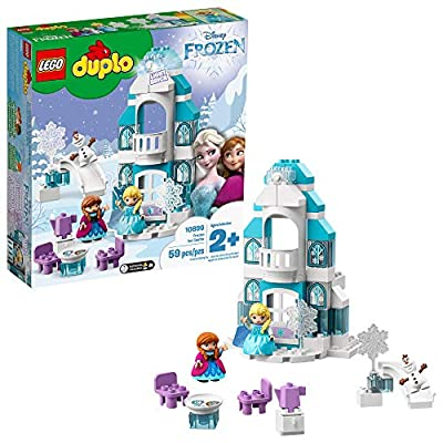 LEGO DUPLO Disney Frozen Ice Castle 10899 Building Blocks (59 Pieces): Toys & Games