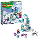 LEGO DUPLO Princess Frozen Ice Castle 10899 Toy Castle Building Set for Toddlers with Anna, Elsa and Olaf, Frozen Castle and Character Figures for Creative Play, New 2019 (59 Pieces)