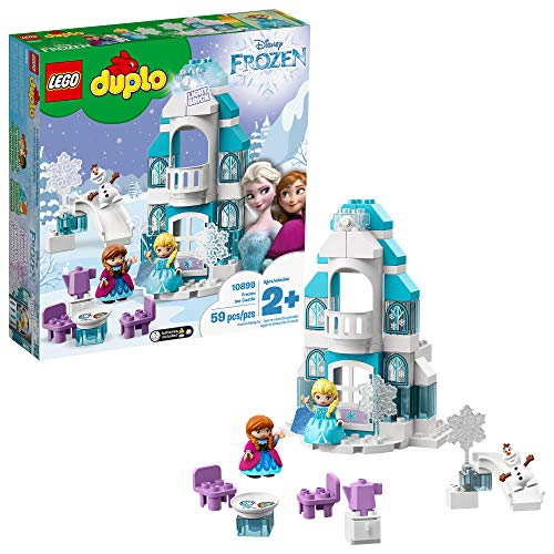 LEGO DUPLO Disney Frozen Ice Castle 10899 Building Blocks, New 2019 (59 Pieces) (At Wholesale Prices Furniture)