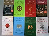 the outlander series 8 book paperback set diana gabaldon outlander dragonfly in amber voyager drums of autumn the fiery cross a breath of snow and ashes an echo in the bone
