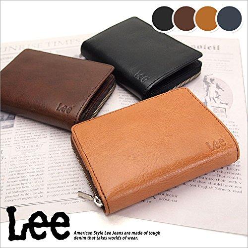 d416f34ce6fa Amazon   (リー) Lee 二つ折り財布 0520266 (チャ(BN))   財布