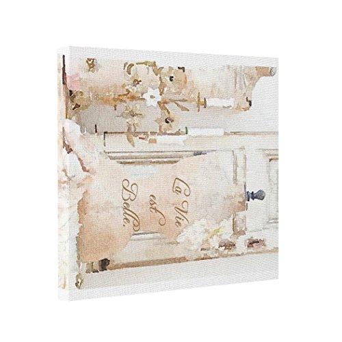Price comparison product image Moc Moc Abstract Art Canvas La Vie est Belle Picture Printed On Canvas Print Canvas