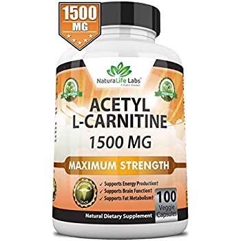 Amazon Com Now Acetyl L Carnitine 500 Mg 200 Veg Caps Health