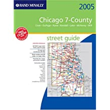 Rand McNally Street Guide Chicago 7-County: Cook, DuPage, Kane, Kendall, Lake, McHenry, Will with CDROM