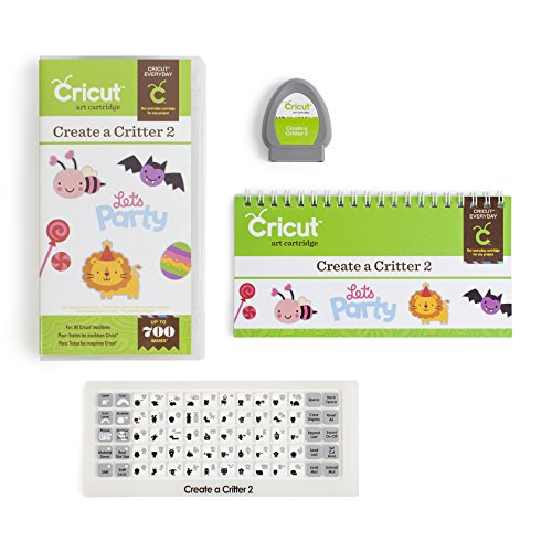 Cricut 2001801 Everyday Cartridge, Create a Critter 2 by Cricut