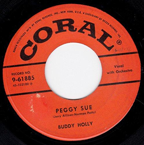 Buddy Holly - 45vinylrecord Peggy Sueeveryday - Zortam Music