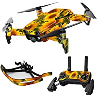 MightySkins Skin for DJI Mavic Air Drone - Sunflowers | Max Combo Protective, Durable, and Unique Vinyl Decal wrap cover | Easy To Apply, Remove, and Change Styles | Made in the USA