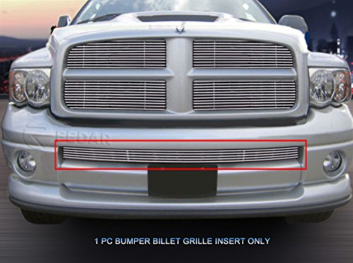 Fedar Lower Bumper Billet Grille Insert for 2002-2005 Dodge Ram ()