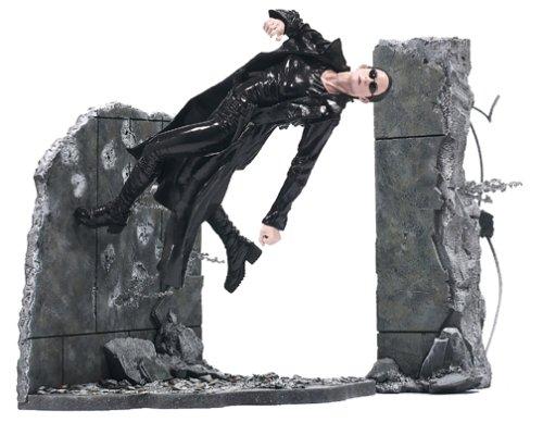 McFarlane The Matrix Series 1 Trinity Matrix Lobby Scene Action Figure