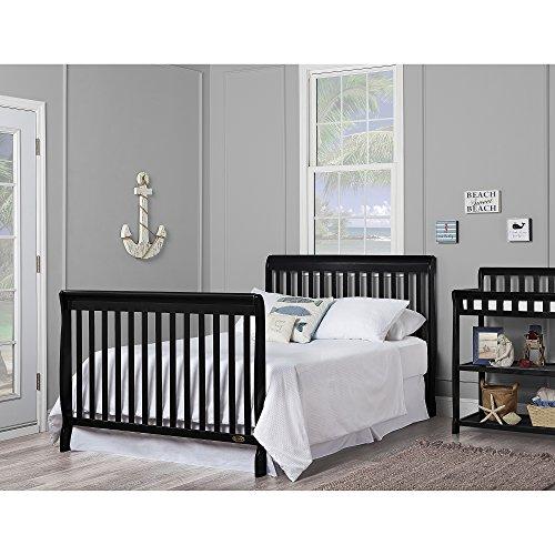 51HFV5Dq76L - Dream On Me, Ashton 5-in-1 Convertible Crib, Black