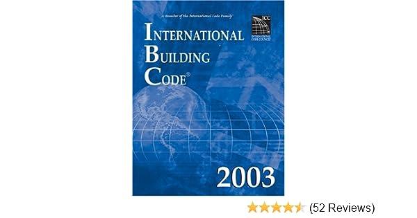International Building Code 2003 International Code Council