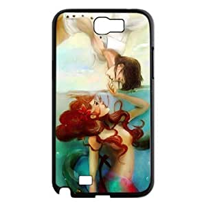 Samsung Galaxy Note 2 N7100 Little mermaid Phone Back Case DIY Art Print Design Hard Shell Protection YT040339 hjbrhga1544