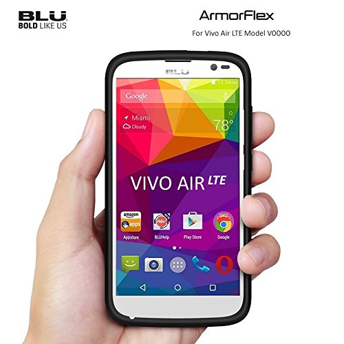 BLU Vivo Air LTE Armorflex Case - Gold/Black